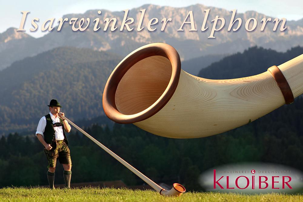 Isarwinkler Alphorn
