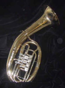 Bariton in B, ovale Bauart